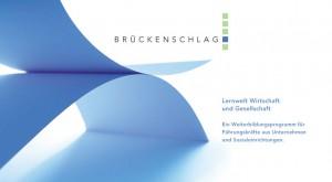 Logo Brückenschlag - Lernwelt wirtschaft und Gesellschaft