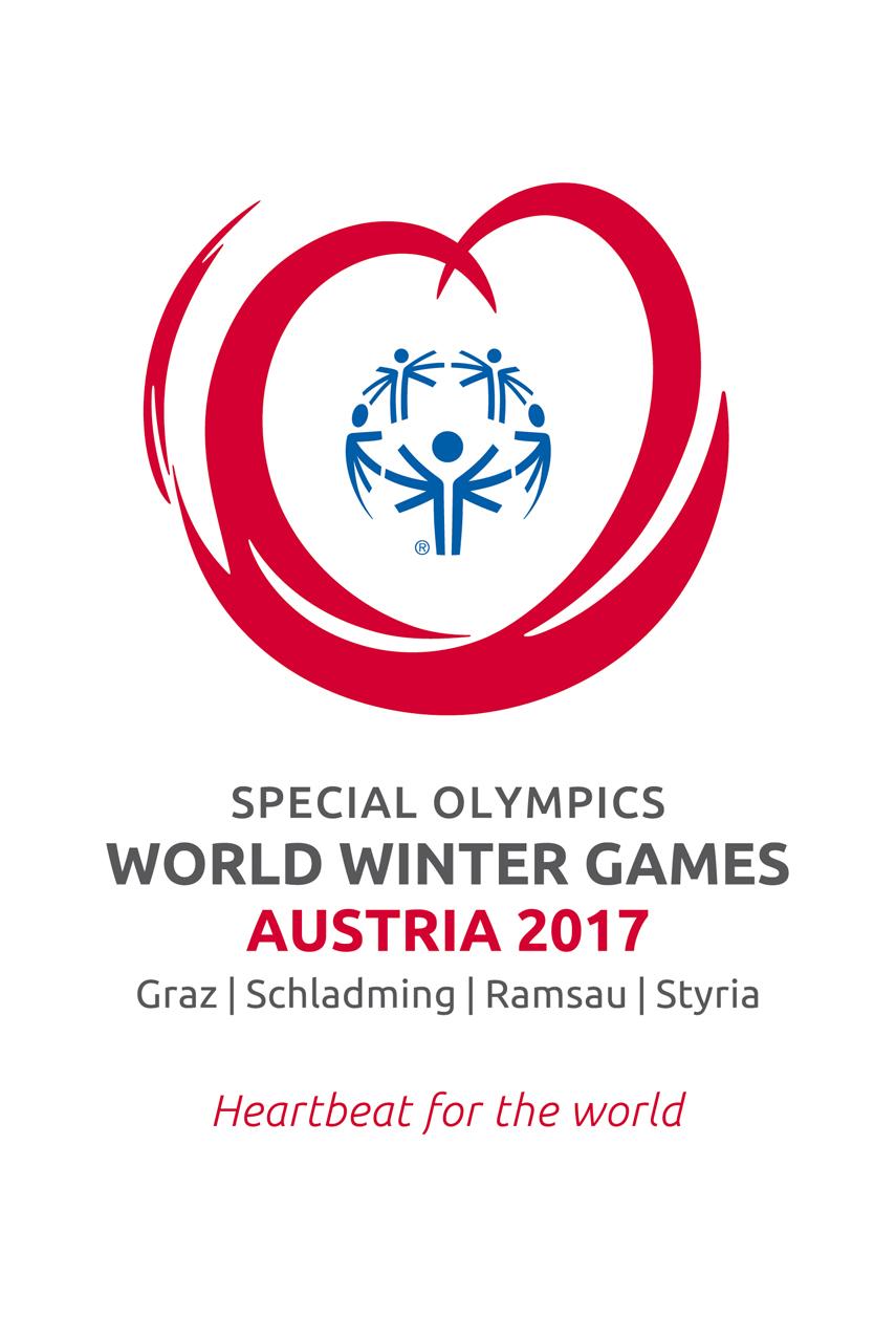 Das Logo zeigt 5 symbolische Menschen, die sich die Hand reichen, sich miteinander im Sinne des Special Olympics Gedanken und auch die 5 Kontinente verkörpern. Sie werden umschlossen von einem roten Herz. Das Herz steht für Werte und Tugenden, die alles Leben verbinden und das Mit- und Füreinander vorantreiben.