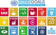 17 Sustainable Development Goals - 17 nachhaltige Entwicklungsziele zur Erreichung der Agenda 2030
