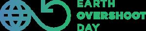 Logo des Earth Overshoot Day, des Welterschöpfungstages - das ist der Tag an dem man von Überbelastung der Erde spricht