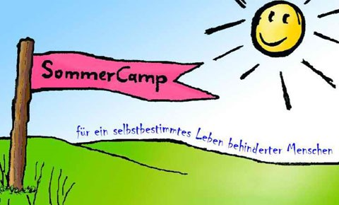 Sommercamp für selbstbestimmtes Leben von Menschen mit Behinderung - Logo