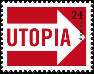 Utopia Logo - Utopia will Menschen, Organisationen und Unternehmen zusammenbringen, die mit uns gemeinsam einen wirksamen Beitrag zu einer nachhaltigen Entwicklung in Wirtschaft und Gesellschaft leisten wollen