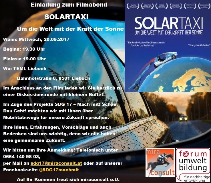 Einladung_Solartaxi_um die Welt mit der Kraft der Sonne