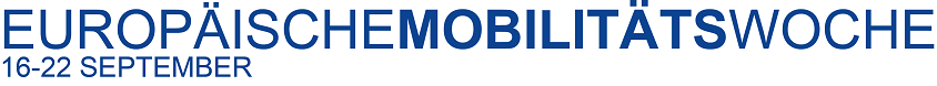 europäische Mobilitätswoche 16. - 22. September 2017