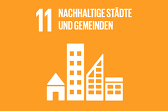 11. Ziel für nachhaltige Entwicklung: Städte und Gemeinden nach nachhaltigen Konzepten, in Anbetracht der regionalen Möglichkeiten, entwicklen.