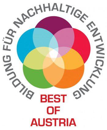 Bildung für nachhaltige Entwicklung - Best of Austria - Logo