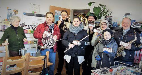 Die Neujahrsgeiger der Marktmusikkapelle Lieboch wünschen ALLEN ein gutes Jahr 2018 und fairteilen nun auch die Botschaft der SDG17 - gemeinsam für ein gutes Leben für ALLE