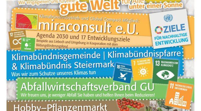 SDG17 – Tag der Sonne in Lieboch