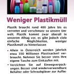 Plastikfasten - zur Vermeidung von Plastikmüll