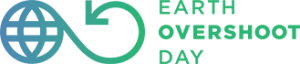 Logo des Earth overshoot day - Welterschöpfungstag